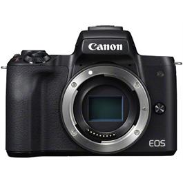 Canon EOS M50 With EF-M 15-45mm & EF-M 22mm Lenses Twin Kit - Black Thumbnail Image 0